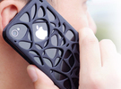 iPhone 4 / 4s case - Cell 2 in Black Strong & Flexible