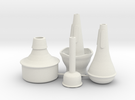 "Mini Trumpet Mutes (for ""Michael's Mini Trumpet"") in White Strong & Flexible"