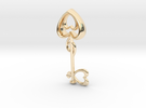 The Heart Key in 14k Gold Plated