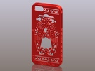 iPhone5_The Chinese Style--Traditional Opera 05 in Red Strong & Flexible Polished