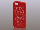 iPhone5_The Chinese Style--Traditional Opera 06 in Red Strong & Flexible Polished