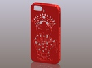 iPhone5_The Chinese Style--Traditional Opera 09 in Red Strong & Flexible Polished