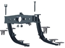 1:6 Scale HUEY - Starboard Side Support Arms in White Strong & Flexible