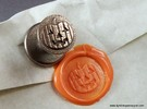 Jack-O'-Lantern Wax Seal in Stainless Steel