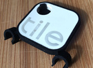 Tile Stealth Bike Tracker in Black Strong & Flexible