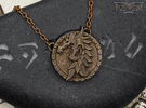 Pendant - Ebonheart Pact in Polished Bronze Steel