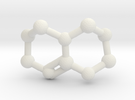Triazabicyclodecene (TBD) Molecule Necklace in White Strong & Flexible