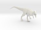 Dinosaur Carcharodontosaurus 1:40 V2  in White Strong & Flexible