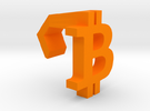 iMac Bling - Bitcoin in Orange Strong & Flexible Polished