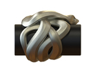 Snake No.1 in White Strong & Flexible Polished