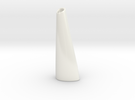 Organic Vase 3.1 (Large) -  Ceramic in Gloss White Porcelain