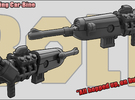 Rat-Rodding Car-Bine: Carbine with Car parts in White Strong & Flexible