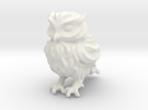 Owl Etta - Plastic in White Strong & Flexible