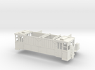 Kohlenwagen Wuppertal H0m in White Strong & Flexible