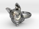 French Bulldog  ring in Premium Silver