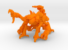 Skorbiont 004 in Orange Strong & Flexible Polished