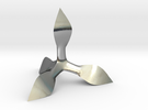 Caltrop 5 in Polished Silver