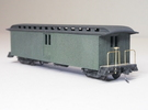 HOn3 40ft Baggage Car D in White Strong & Flexible