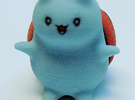 "Catbug - 1.5"" tall in Full Color Sandstone"