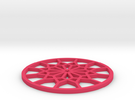 Coaster-4 in Pink Strong & Flexible Polished