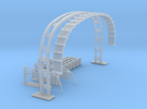 LU Cable Gantry in Frosted Ultra Detail