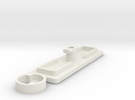 IIgs Port Cover (43mm) in White Strong & Flexible