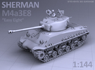 1/144 - Sherman M4A3E8 Tank in Frosted Ultra Detail