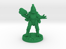 Xenng War-Caste Eradicator (15mm scale) in Green Strong & Flexible Polished