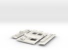 Stryker APC Back Kit(1:18 Scale) in White Strong & Flexible