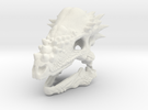 Pachycephalosaurus in White Strong & Flexible