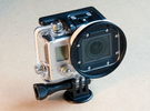 GoPro Hero3 filter adapter in White Strong & Flexible