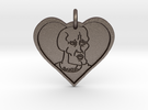 Handsome Squidward Pendant in Stainless Steel