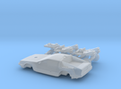 DeLorean Time Machine Train 1:160 in Frosted Ultra Detail