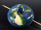 Torus Earth in Coated Full Color Sandstone