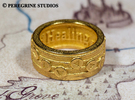 Ring - Song of Healing (Size 13) in Stainless Steel