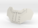 Iron Man Neck Collar Chest Plate in White Strong & Flexible