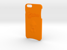Iphone 6 Plus Splatoon Case in Orange Strong & Flexible Polished