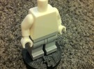 Chess game for lego pawn in White Strong & Flexible