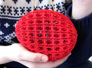 Clutch (Colloidal Vessel 120810) in Red Strong & Flexible Polished