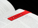 Bookmark Mum in Red Strong & Flexible Polished