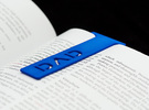 Bookmark Dad in Blue Strong & Flexible Polished