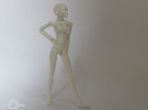 1:12 FUD ALTER EGO Female Bjd Doll Kit in Frosted Ultra Detail