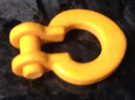 300 Ton Bail Shackle (1 To 50 Scale) in White Strong & Flexible