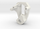 SB5 Front Brake Servo Mount Version 3 in White Strong & Flexible