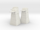 Turbolaser Turret  1/270 3 pack in White Strong & Flexible