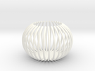 Claw - Tea Light in White Strong & Flexible Polished