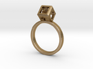 Ring size 8 (18 mm) with HyperCube