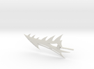 Age of Extinction Grimlock Spinal Sword in White Strong & Flexible