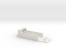 F450 Battery Tray in White Strong & Flexible