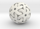 Starball Pendant in White Strong & Flexible